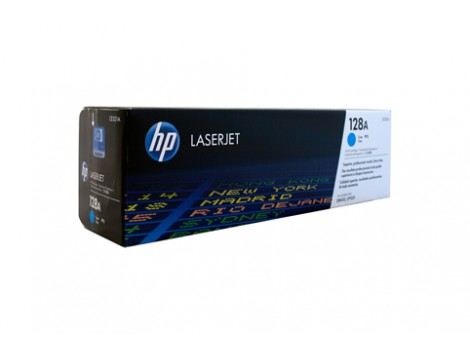 Genuine HP CE321A Cyan Toner Cartridge