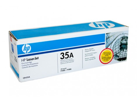 Genuine HP CB435A Toner Cartridge