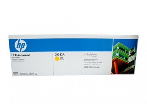 Genuine HP CB382A Yellow Toner Cartridge