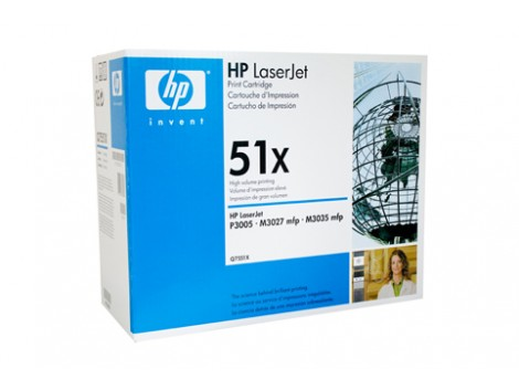 Genuine HP Q7551X Toner Cartridge