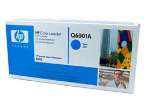 Genuine HP Q6001A Cyan Toner Cartridge