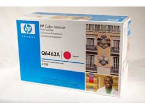 Genuine HP Q6463A Magenta Toner Cartridge
