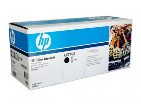 Genuine HP CE740A Black Toner Cartridge
