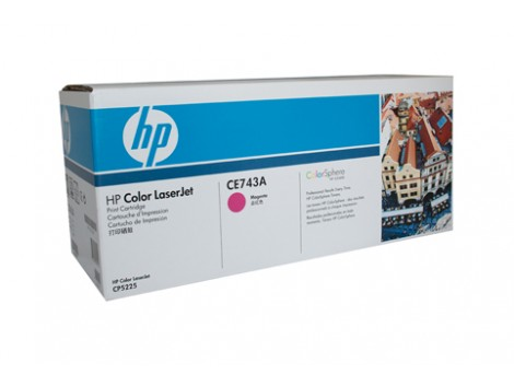 Genuine HP CE743A Toner Cartridge