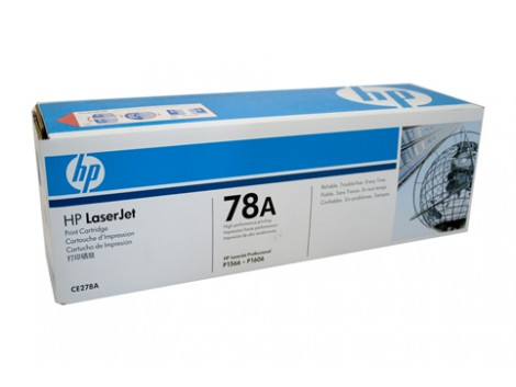 Genuine HP CE278A Black Toner Cartridge