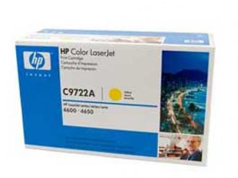 Genuine HP C9722A Toner Cartridge