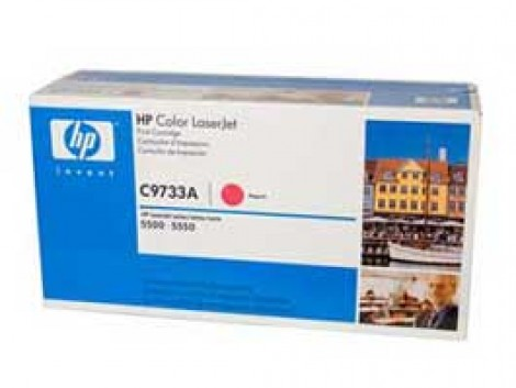 Genuine HP C9733A Toner Cartridge