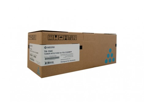 Genuine Kyocera TK-154C Toner Cartridge