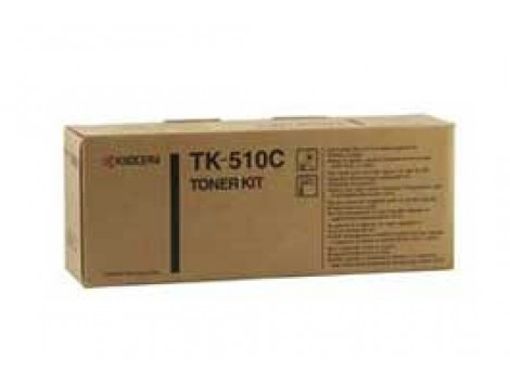 Genuine Kyocera TK-510C Cyan Toner Cartridge
