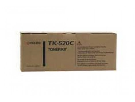Genuine Kyocera TK-520C Toner Cartridge
