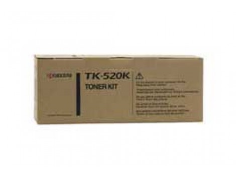 Genuine Kyocera TK-520K Black Toner Cartridge