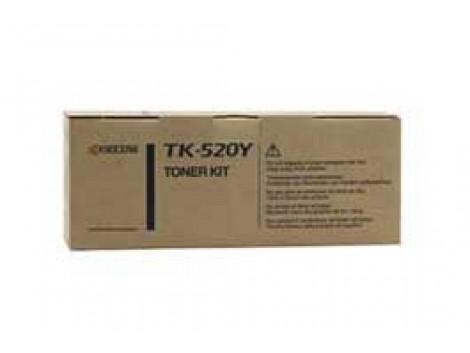 Genuine Kyocera TK-520Y Yellow Toner Cartridge
