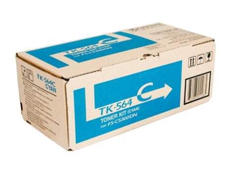 Genuine Kyocera TK-564C Toner Cartridge