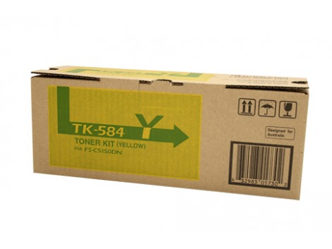 Genuine Kyocera TK-584Y Toner Cartridge