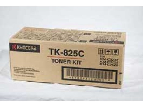 Genuine Kyocera TK-825C Toner Cartridge