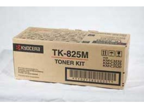 Genuine Kyocera TK-825M Magenta Toner Cartridge