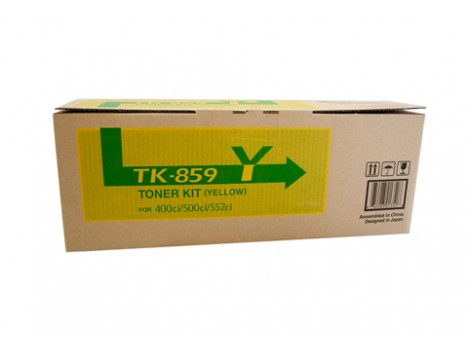 Genuine Kyocera TK-859Y Yellow Toner Cartridge