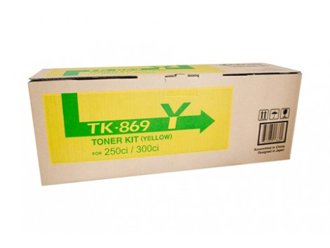 Genuine Kyocera TK-869Y Yellow Toner Cartridge