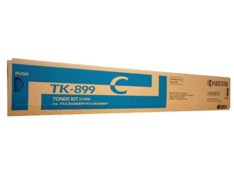 Genuine Kyocera TK-899C Toner Cartridge