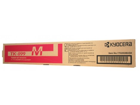 Genuine Kyocera TK-899M Toner Cartridge