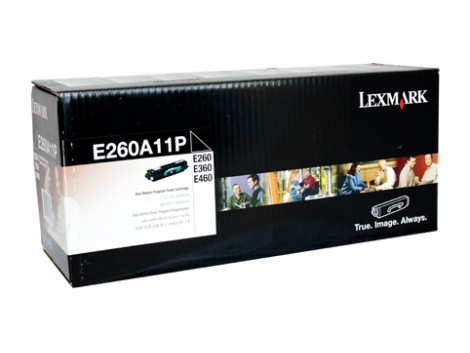 Genuine Lexmark E260A11P Toner Cartridge
