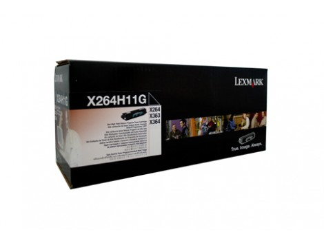 Genuine Lexmark X264H11G Toner Cartridge