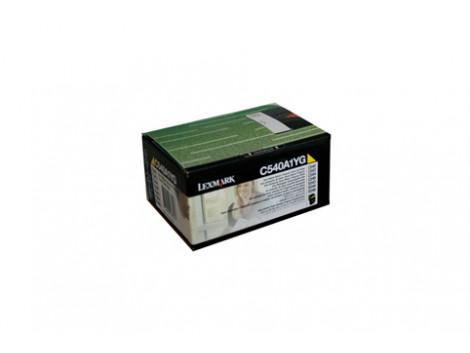 Genuine Lexmark C540A1YG Yellow Toner Cartridge