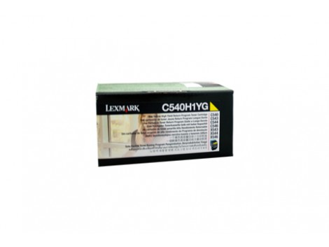 Genuine Lexmark C540H1YG Toner Cartridge