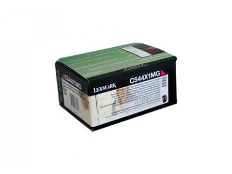 Genuine Lexmark C544X1MG Magenta Toner Cartridge