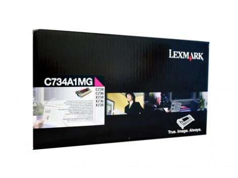 Genuine Lexmark C734A1MG Toner Cartridge