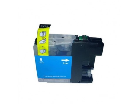 Compatible Brother LC-133C, LC-131C Ink Cartridge