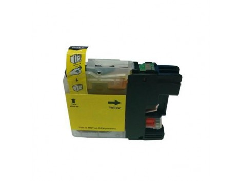 Compatible Brother LC-133Y, LC-131Y Ink Cartridge