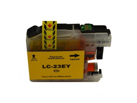 Compatible Brother LC23EY Ink Cartridge
