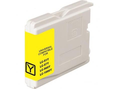 Compatible Brother LC-37Y, LC-57Y Ink Cartridge