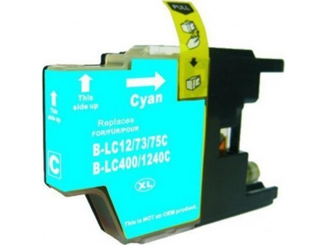 Compatible Brother LC-40C, LC-73C Ink Cartridge
