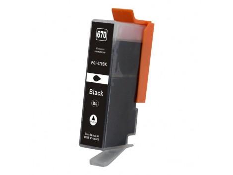 Compatible Canon PGI-670XLBk Ink Cartridge