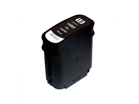 Compatible HP #18 Bk (C4936A) Ink Cartridge