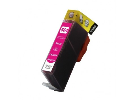 Compatible HP #564XL, Magenta High Yield Ink Cartridge, #564XLM (CB324WA) High Yield Ink Cartridge