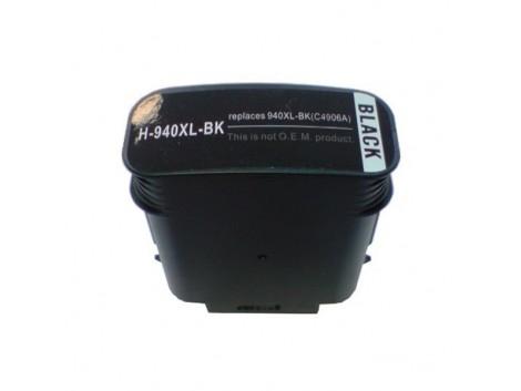 Compatible HP #940XL, #940XLBK (C4906AA) Ink Cartridge