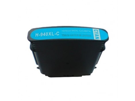 Compatible HP #940XL, #940XLC (C4907AA) Ink Cartridge