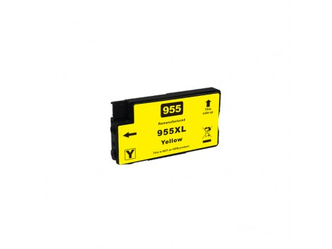 Remanufactured HP 955XL Yellow L0S69AA Ink Cartridge