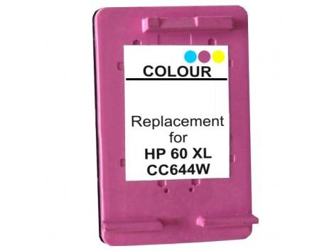 Remanufactured HP #60XL, #60XLC (CC644WA) Ink Cartridge