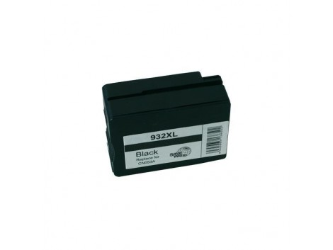 Compatible HP #932XL, Black High Yield Ink Cartridge, #932BkXL (CN053AA) High Yield Ink Cartridge