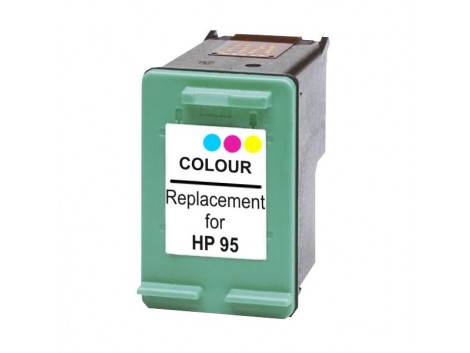 Remanufactured HP #95 (C8766WA) Ink Cartridge