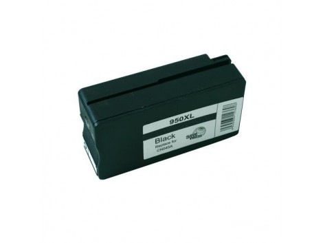 Remanufactured HP #950BkXL (CN045AA) Ink Cartridge