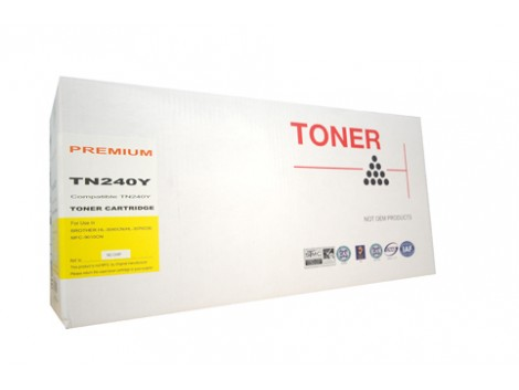 Compatible Brother TN-240Y Toner Cartridge