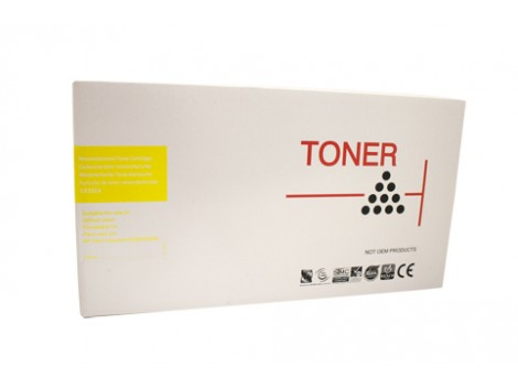Remanufactured HP #504, #504A Yellow (CE252A) Toner Cartridge