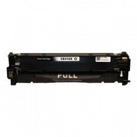 Compatible HP #305X, Black High Yield Laser Cartridge , #305X Black (CE410X) High Yield Toner Cartridge