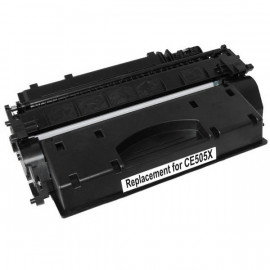 Compatible HP #05X, #05X (CE505X) Toner Cartridge