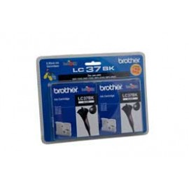 Genuine Brother LC-37BK2PK Black Ink Cartridge